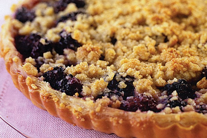 blackberry streusel