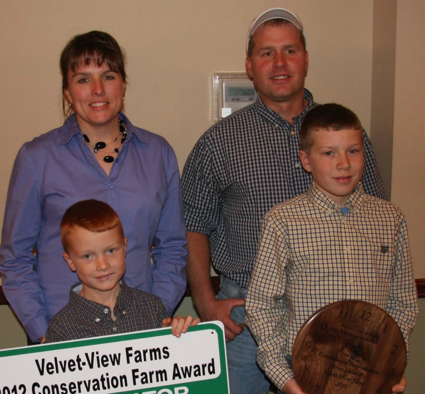 Holmes Soil and Water Conservation District award