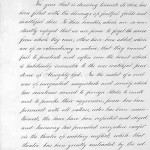 Page 1 of President Lincoln's Thanksgiving Proclamation