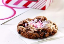 Peppermint mocha cookie