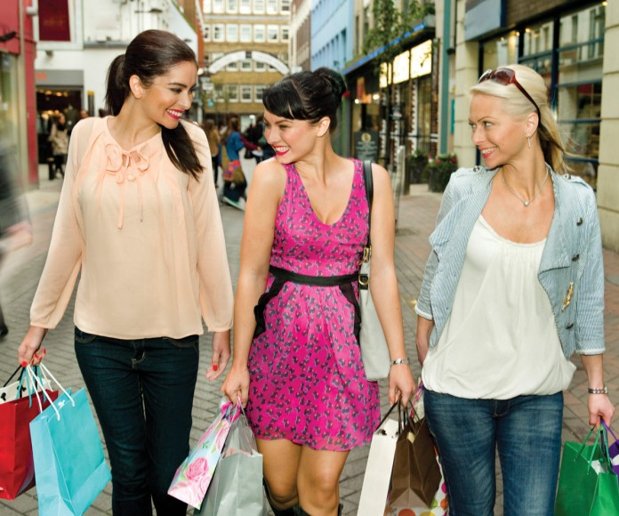 photo of women shopping