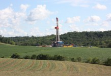 deep well Marcellus shale rig