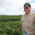 Rick Molnar of Molnar Farms also raises cash grain, in addition to the farm's produce.