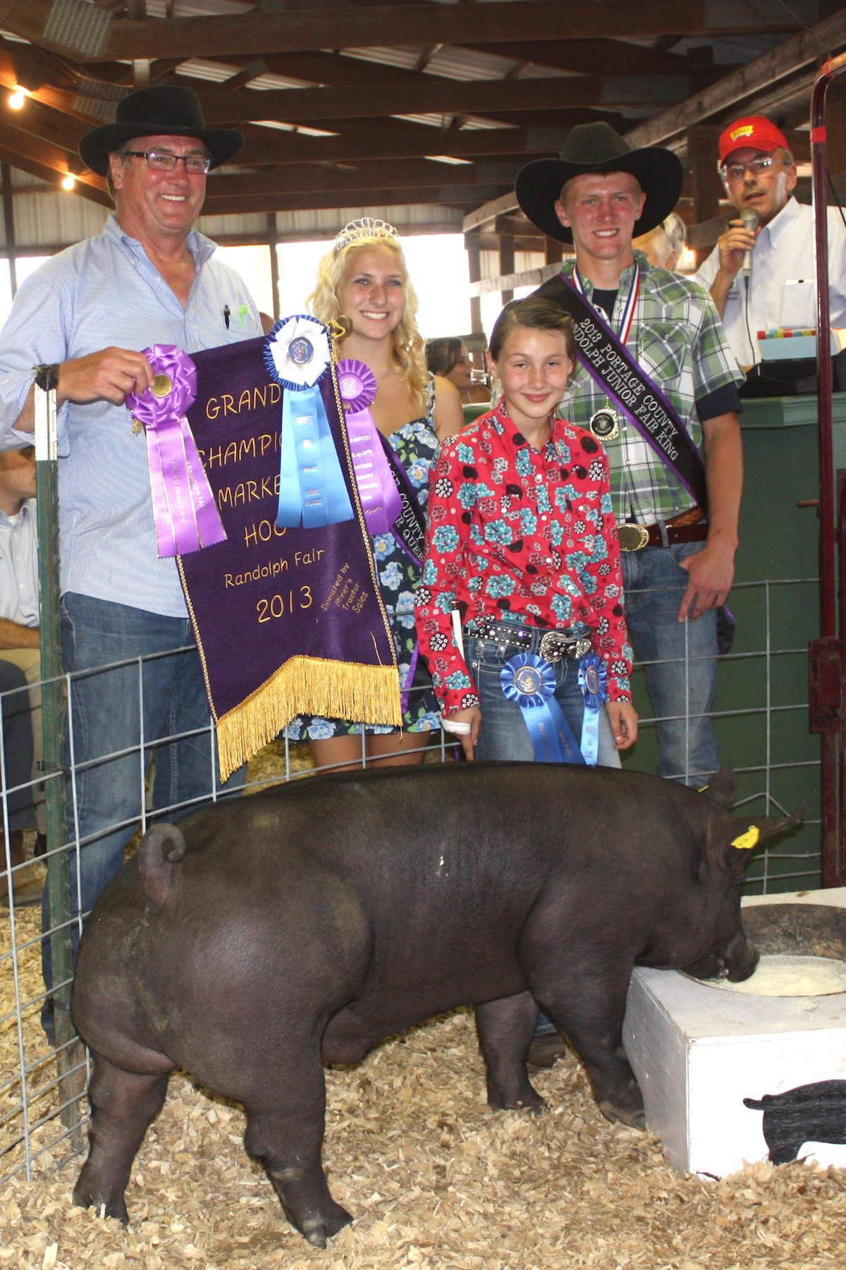 Grand Champion Hog Brings 21 Pound At 2013 Portage County