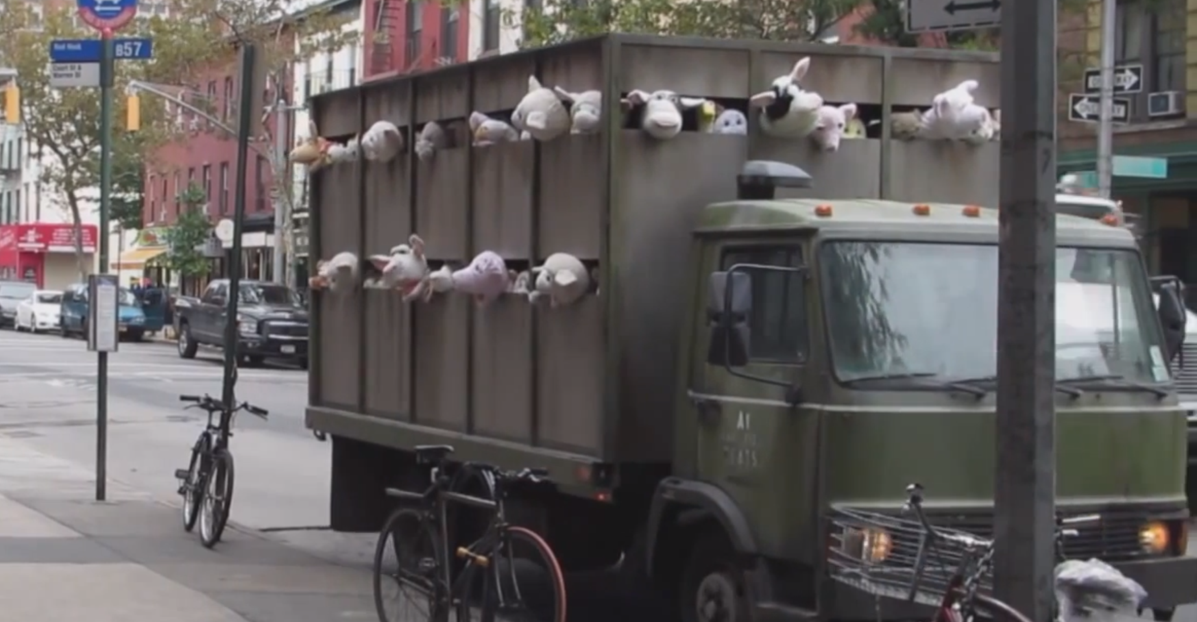 Banksy, Sirens of the Lambs