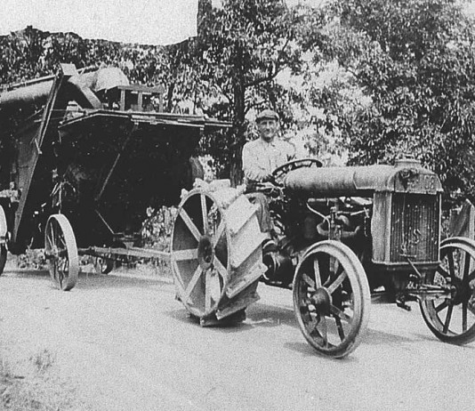 Lee Brown and Fordson Tractor