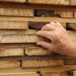 checking wood boards