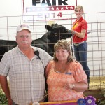 Mackenzie Kotnik's 459-pound grand champion beef feeder was sold to Larry and Leora Kotnik, of Kotnik Farms, for a bid of $7 a pound.