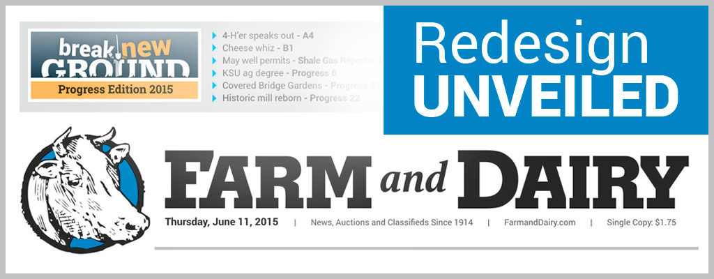 Farm and Dairy redesign unveiled