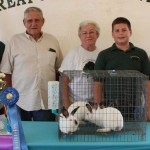 Grand champion rabbit meat pen
