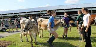 girls at 2011 Trumbull County Fair