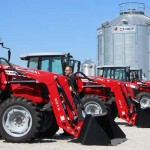 Massey Ferguson tractors at Farm Science Review 2015
