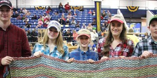 Pa. Farm Show Fleece to Shawl Competition winners