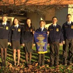 Smithville FFA novice parliamentary procedure team