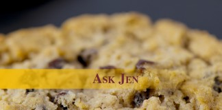 Ask Jen text with cookie