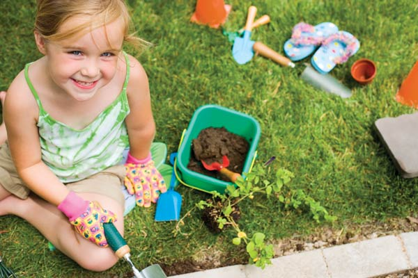 6 ideas for gardening with kids farm and dairy for Gardening with children