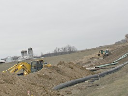 Pipeline construction Carroll County