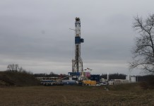 Utica shale well in Carroll County.