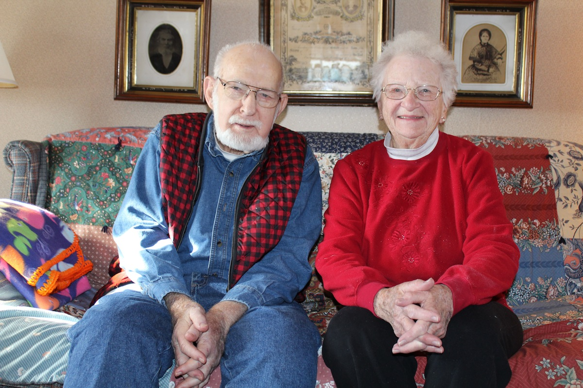 Ohio muskingum county norwich - George And Helen Richey Of Muskingum County
