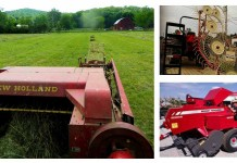 farm equipment collage