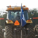 Tractor lighting and visibility