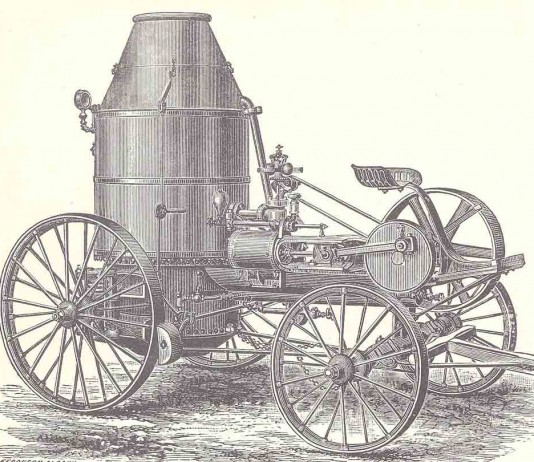Westinghouse portable steam engine