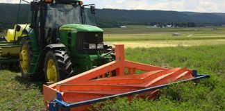 rolling cover crop