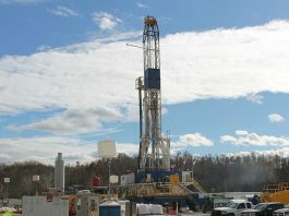 Guernsey Co. well rig